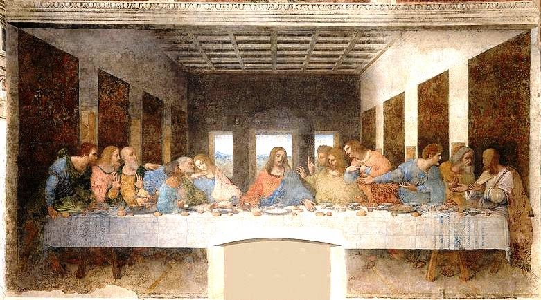 apresiasi seni the last supper Span style=color: red font-family: broadway font-size: 220pt mso-bidi.