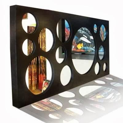 Kaviart espejos decorativos a pedido for Espejos decorativos con luz