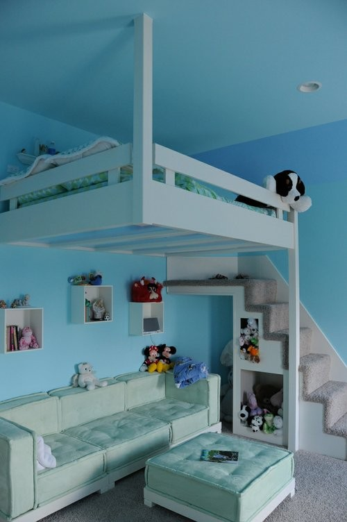 Girls Bedroom Ideas Loft Bed