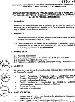 directiva reasignaciones 2013