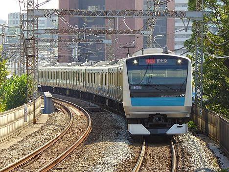 京浜東北線 快速 東十条行き E233系(2015.3廃止)