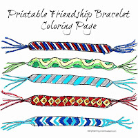 Friendship Bracelet X Pattern