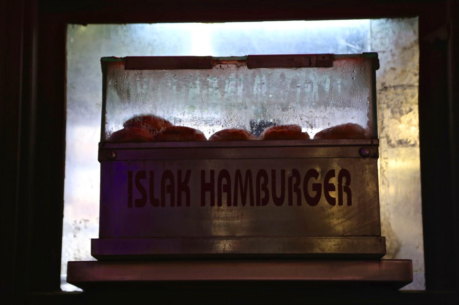 wet hamburger, istanbul