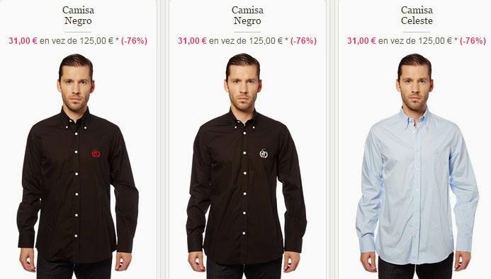 Tres modelos de camisas que puedes comprar por poco más de 30 euros.