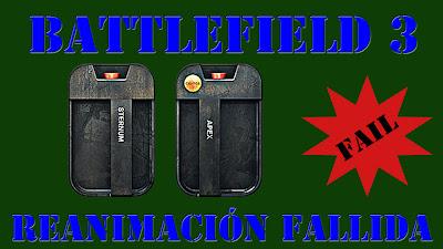 Battlefield 3 Reanimación Fallida