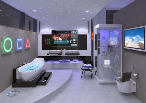 outdoor indoor: Inspiring Interiors a Luxurious Bathroom