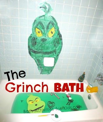 How the Grinch Stole Christmas Bath