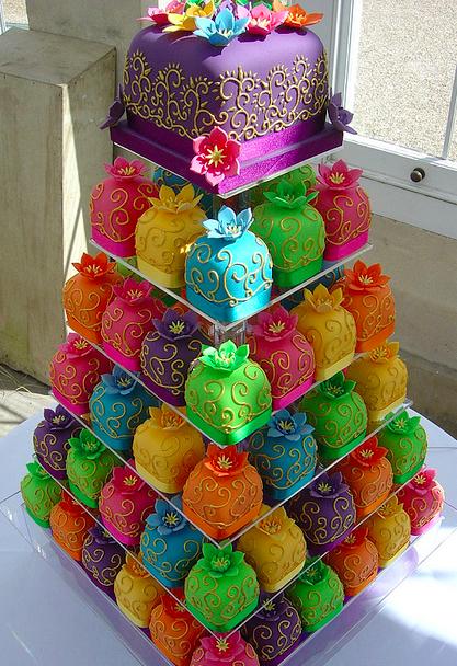 perbimbirimbina: torta di cupcakes