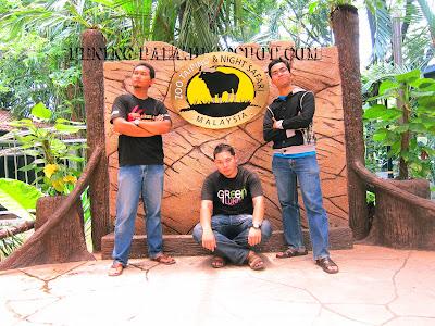 zoo taiping, 3 sekawan, cuti-cuti malaysia, safari night, perak, zoo, haiwan, lawatan