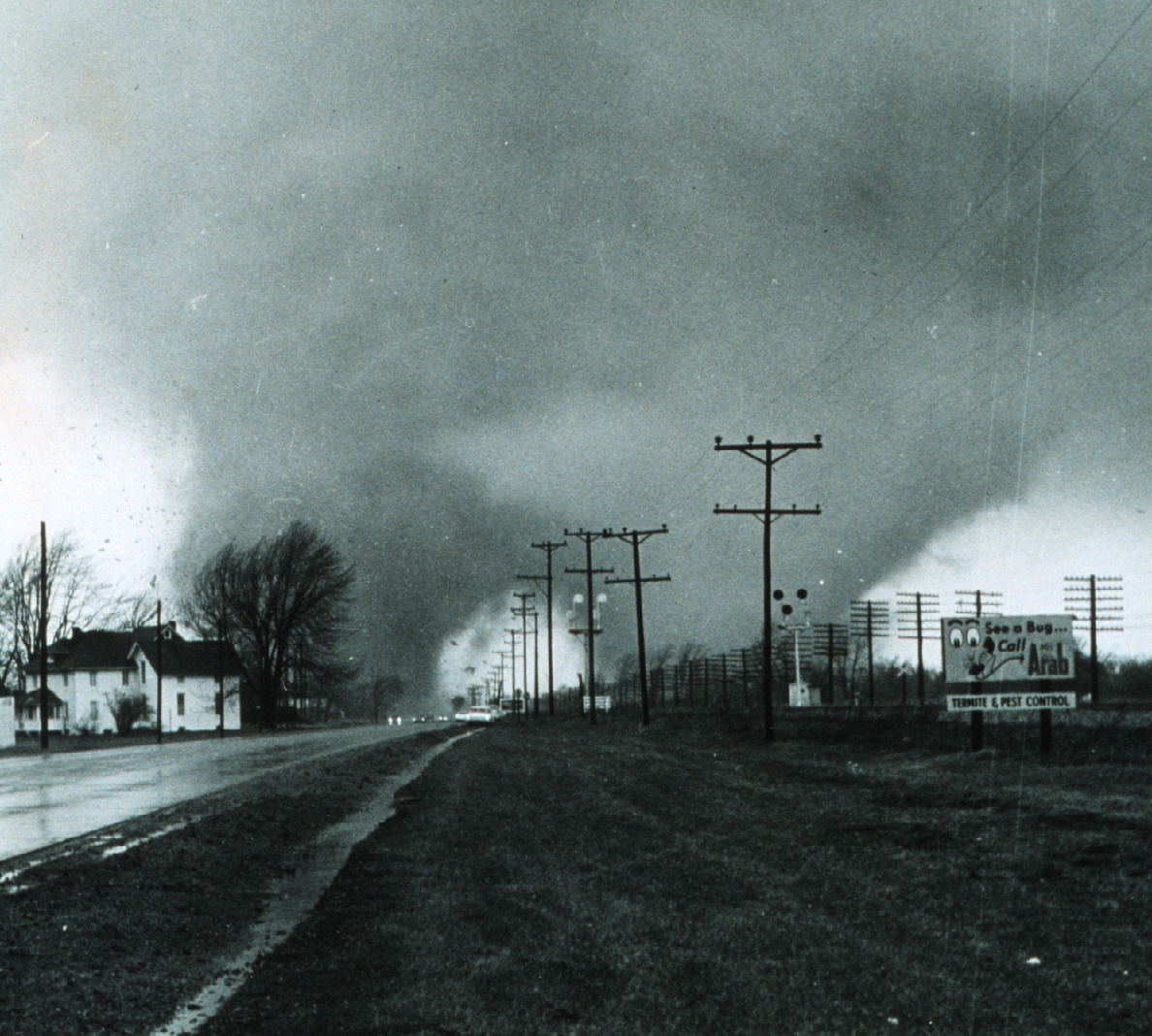 Indiana st joseph county wyatt - Double Tornado That Hit The Midway Trailer Park Killing 33 Paul Huffman