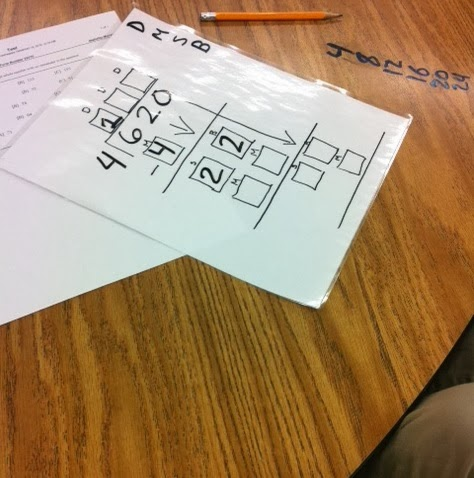 ... Apple For The Teacher: Thursday Throw down - Interactive Long Division