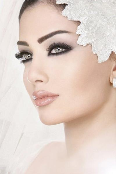 Beautiful Wedding Makeup Pictures : bold, beautiful, yet elegant bridal makeup