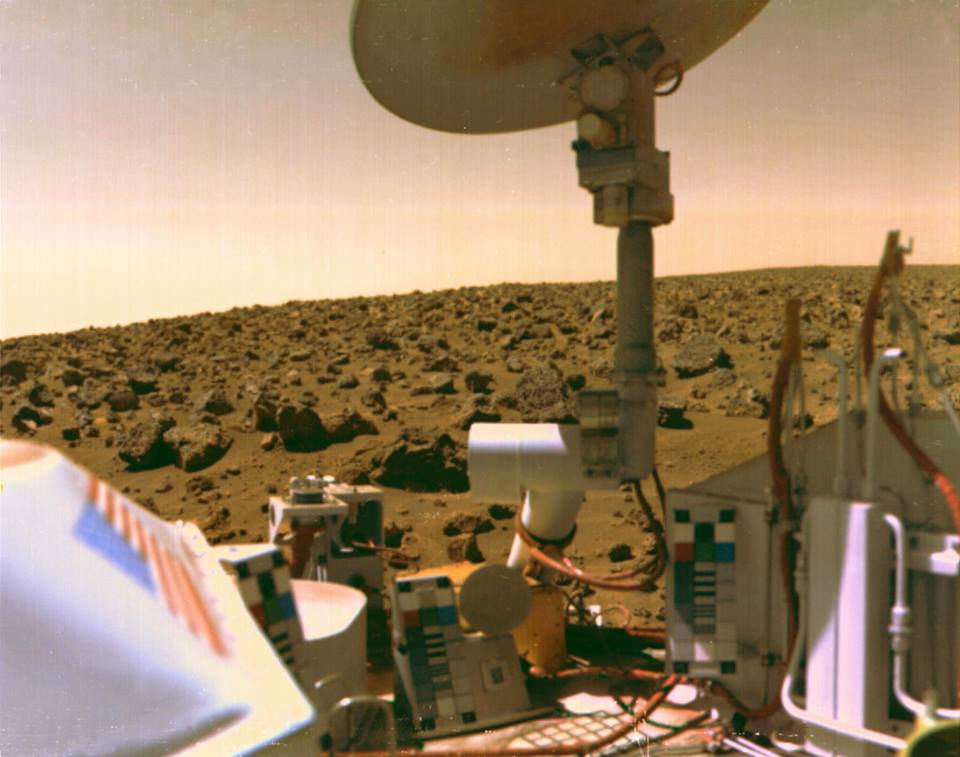 NASA's 1976 Viking Landers on Mars