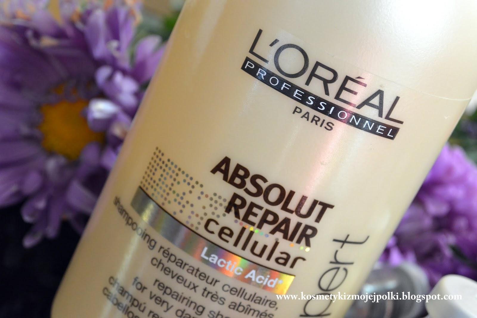Na ratunek zniszczonym włosom - L'Oreal Professionnel Absolut Repair Cellular