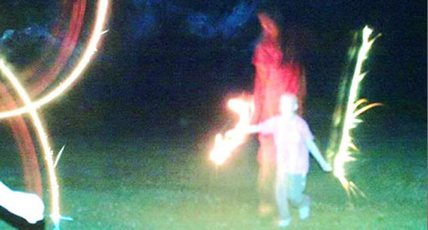 Virgin Mary Apparition In Ohio? Ghostly Figure Appears In Photo Behind Erin Potter, Child Battling Leukemia
