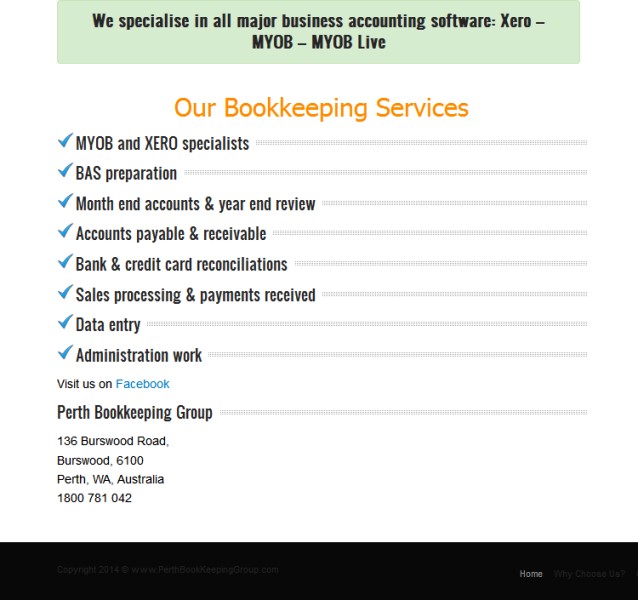 trusted bookkeeping services provider
