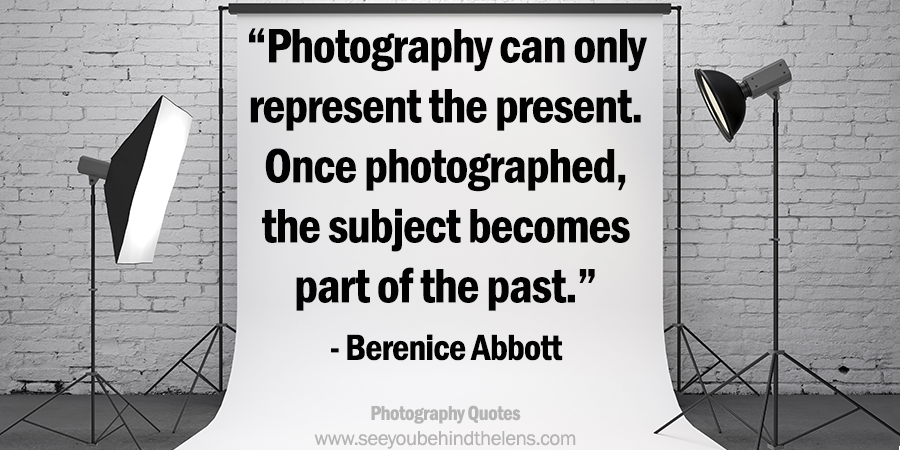 Top 20 Photography Quotes from DVP: #19 from Berenice Abbott