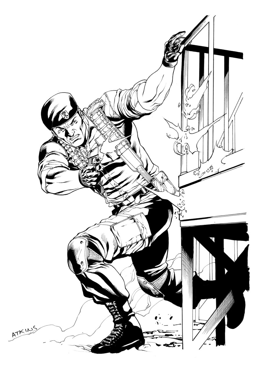 gi joe flint robert atkins art