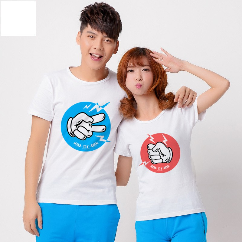 Jual Kaos Hompimpa Couple Online Murah di Jakarta Lengan Pendek Trendy