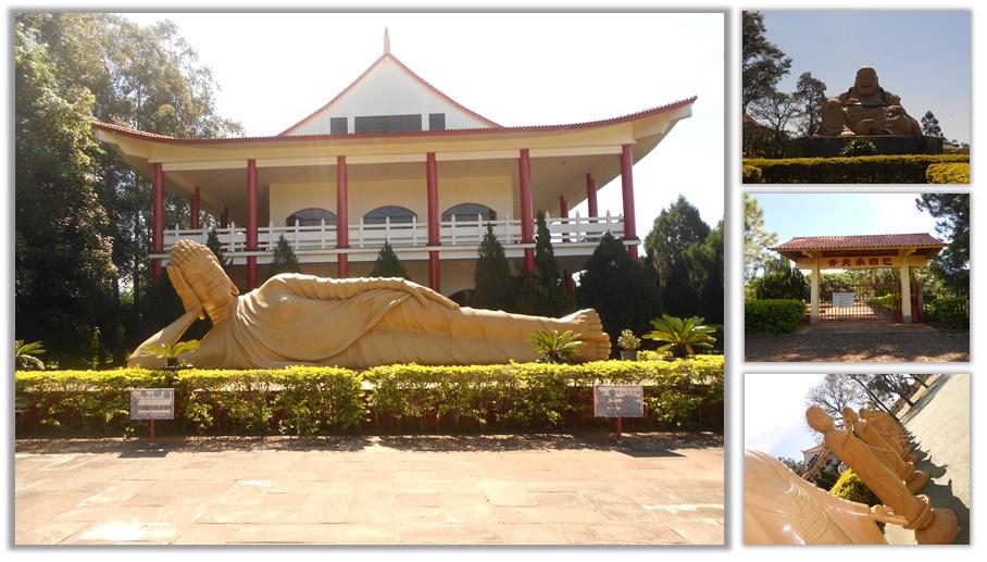 Templo Budista - A História da Gaby