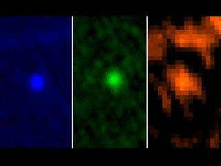 Астероид Апофис на снимке, сделанном космической обсерваторией Гершель