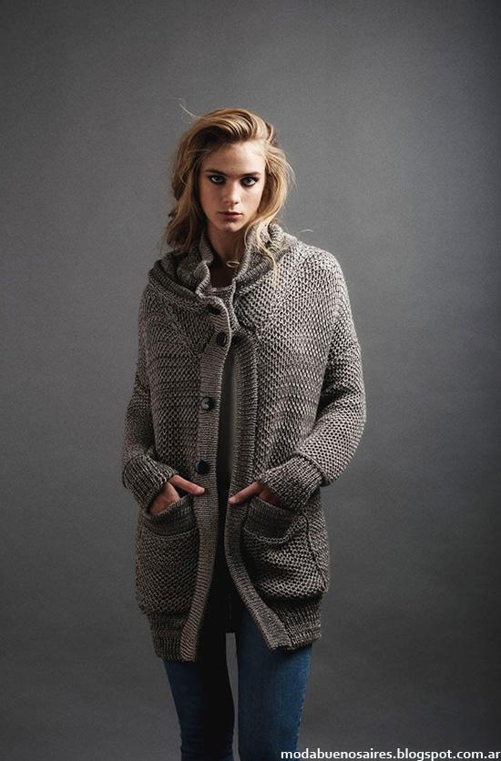 Paula Ledesma otoño invierno 2014. Moda Tejidos invierno 2014 cardigans.