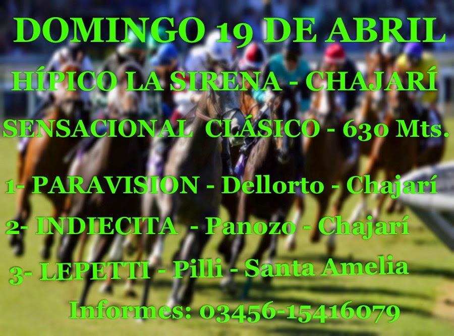 CLÁSICO CHAJARI 19-04-15