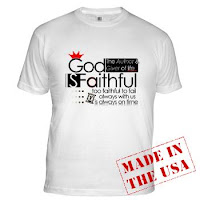 God is faithful - T-shirt