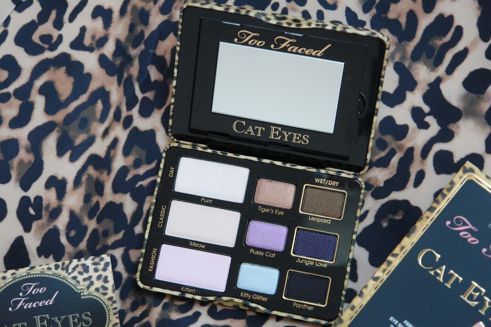 Too Faced Cat Eye Palette review, beauty, eye shadows, make up, palette, review, Too Faced, beauty blog, blogger