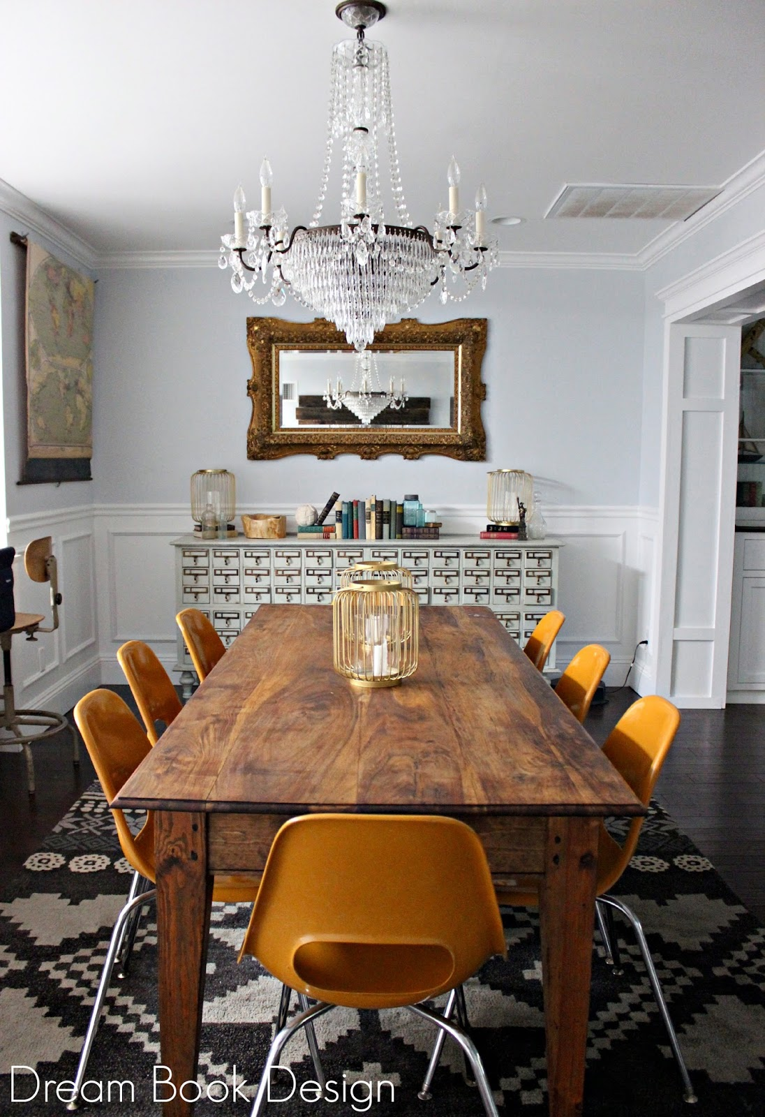 this quite possibly might be my most favorite craigslist purchase to date and thats saying a whole lot we feel like it totally completes the room - Schonbek Chandelier