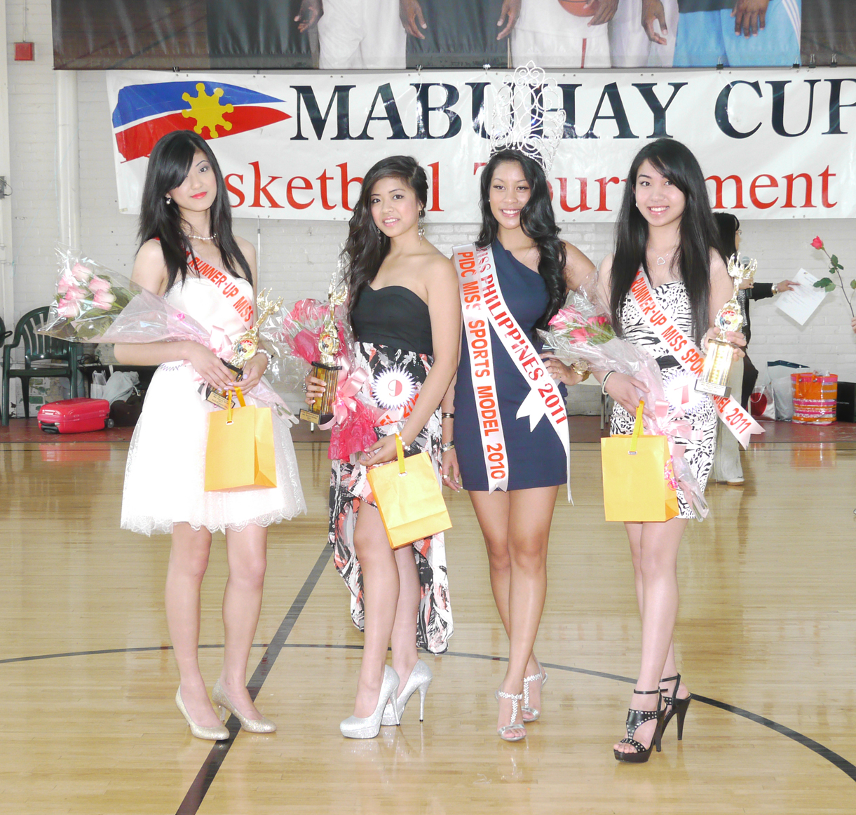 1st runner-up Nesel Batle personify the beauties of the Mabuhay Cup