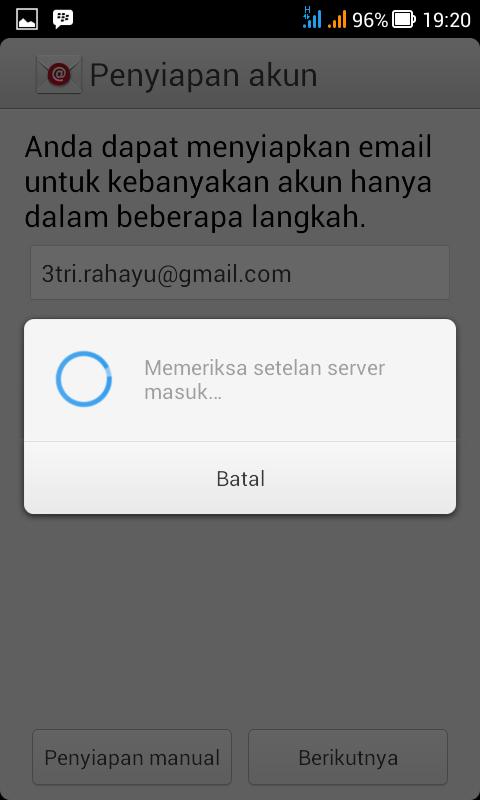 setelan server email