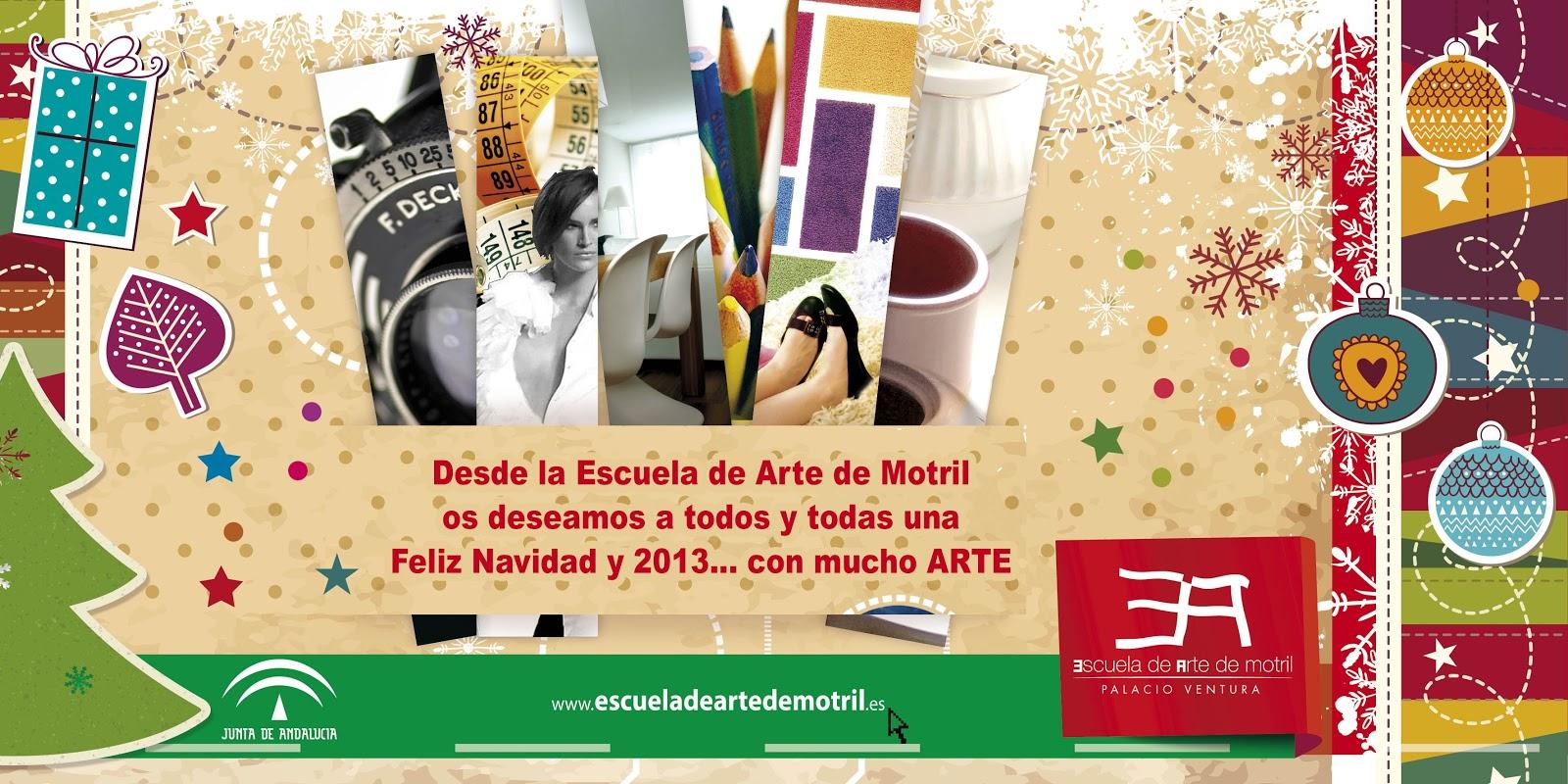 Dise o de interiores escuela de arte de motril feliz navidad for Escuela de decoracion de interiores