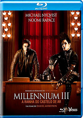 Filme Poster Millennium 3  A Rainha do Castelo de Ar BDRip XviD Dual Audio &amp; RMVB Dublado