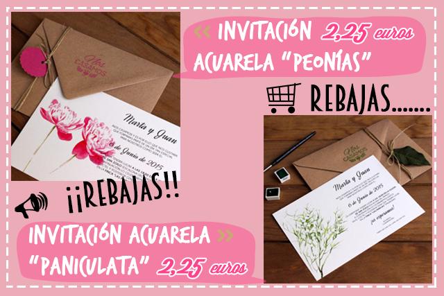 rebajas enero 2015 invitaciones de boda originales hermanas bolena