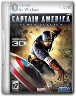PC Game Capitão América Super Soldier 2011