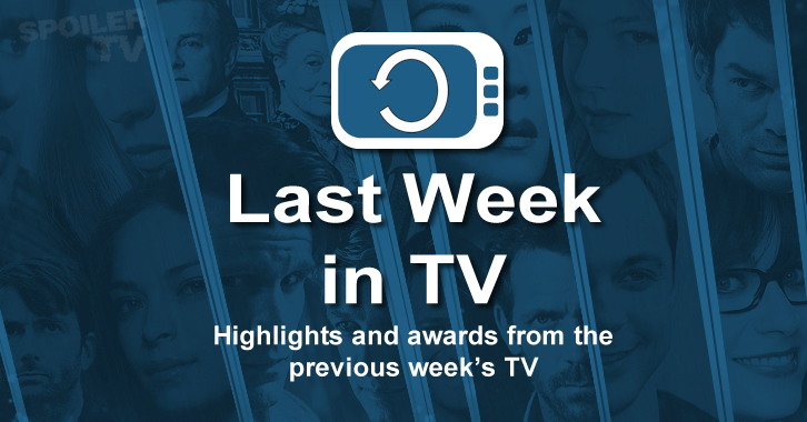 Last Week in TV - Week of May 11 - Reviews and Episode Awards