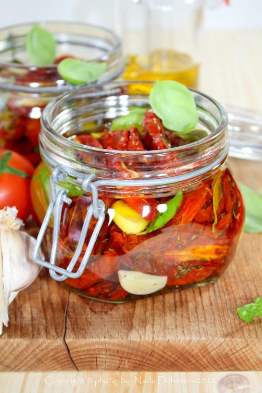 Sušene rajčice u maslinovom ulju