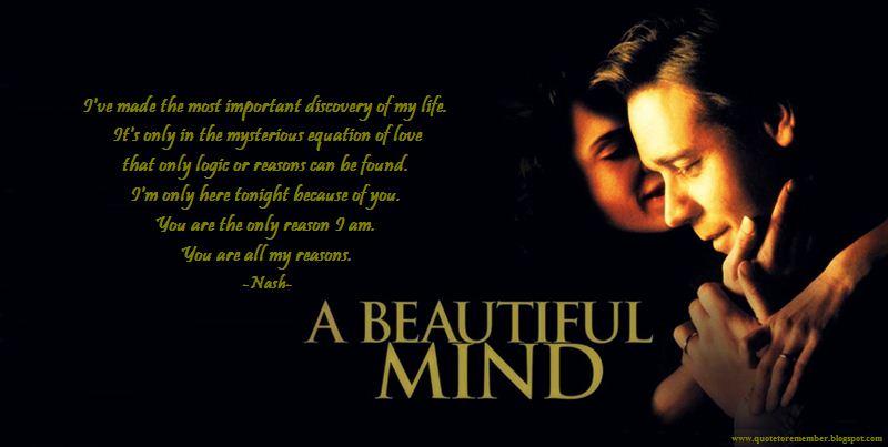 a beautiful mind quotes quotesgram