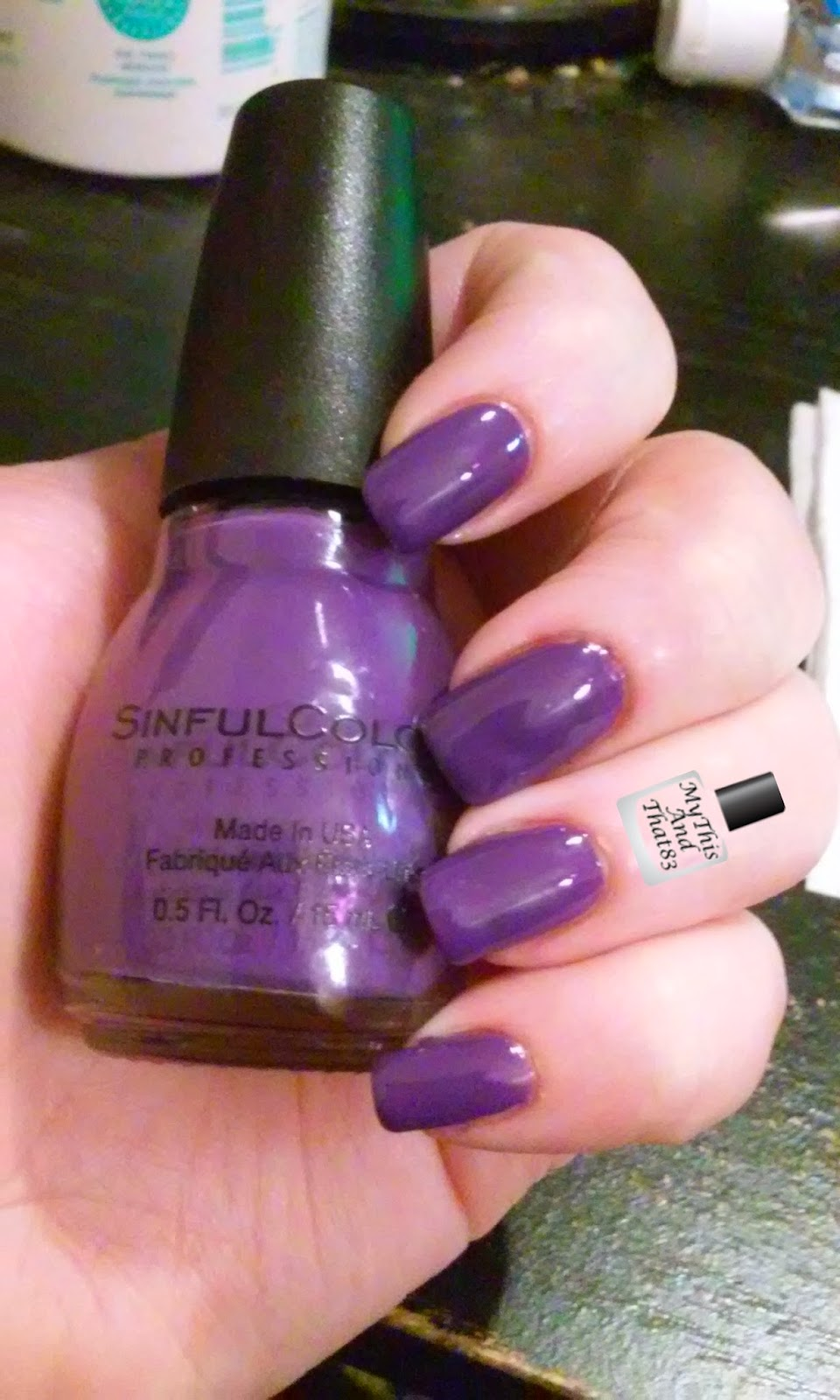 Sinful Colors 'Amethyst'