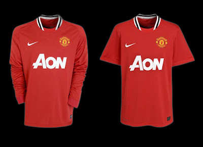 Manchester United release new Home Jersey for season 2011-2012