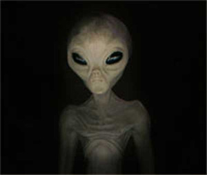 Sosok Alien Yang Menghebohkan Kantor DPRD Sulawesi Selatan