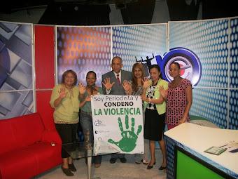 SOY PERIODISTA Y CONDENO LA VIOLENCIA, EN EL CANAL 29