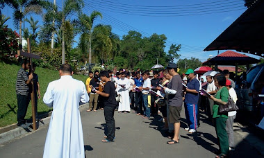 WAY OF THE CROSS 2012 MONFORT KINARUT