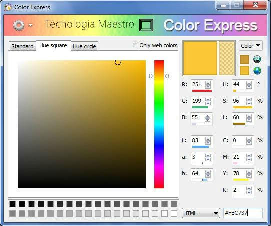 Color Express una gran herramienta para trabajar con el color