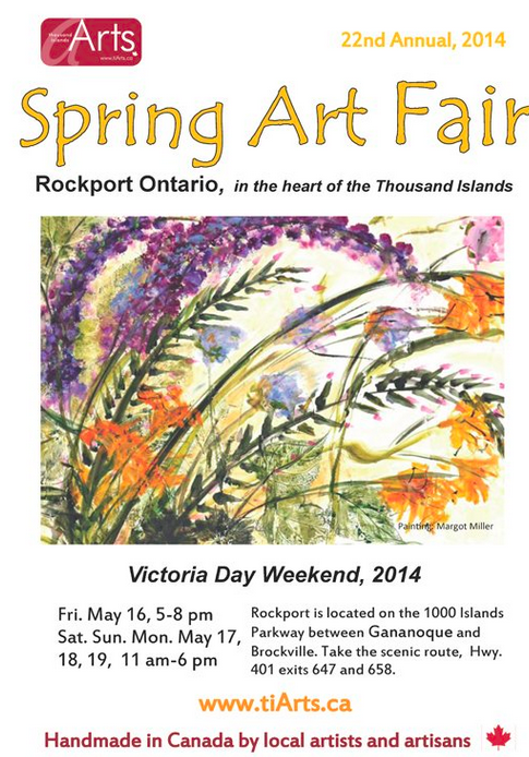 TIArts Spring Art Fair May 16 - 19