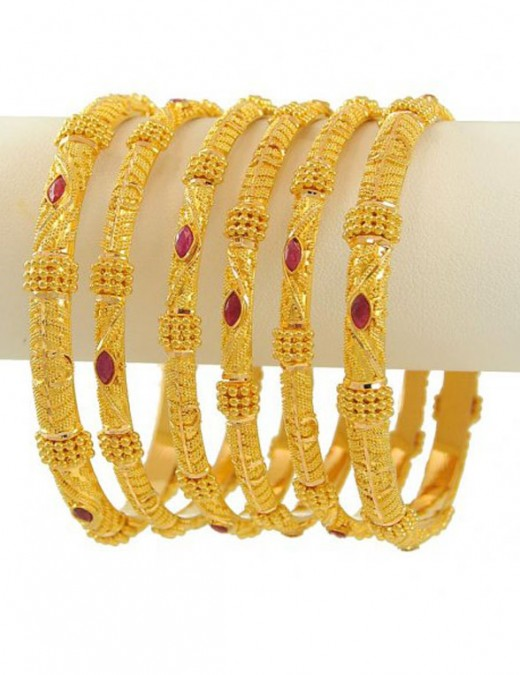 gold bangles designs 2012 fashion in new look