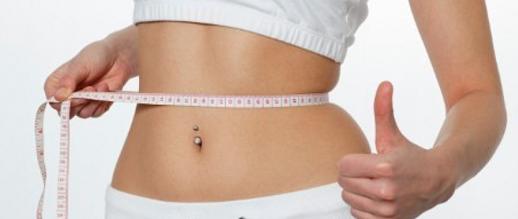 Cara mengecilkan perut foto