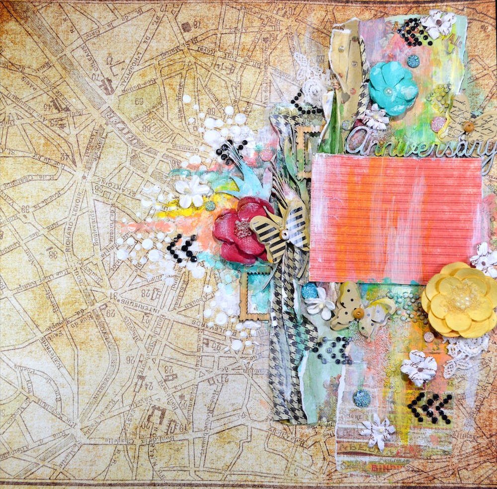 How to scrapbook a holiday - Alda Has A Gorgeous Holiday Sketch For You To Play Along This Week At Mojo Monday Come Play Alone And Make A Beautiful Layout For Your Holiday Photo