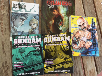 Bestiarius Mobile Suit Gundam Complotto Gihren Lock-Up Dylan Dog Color Fest